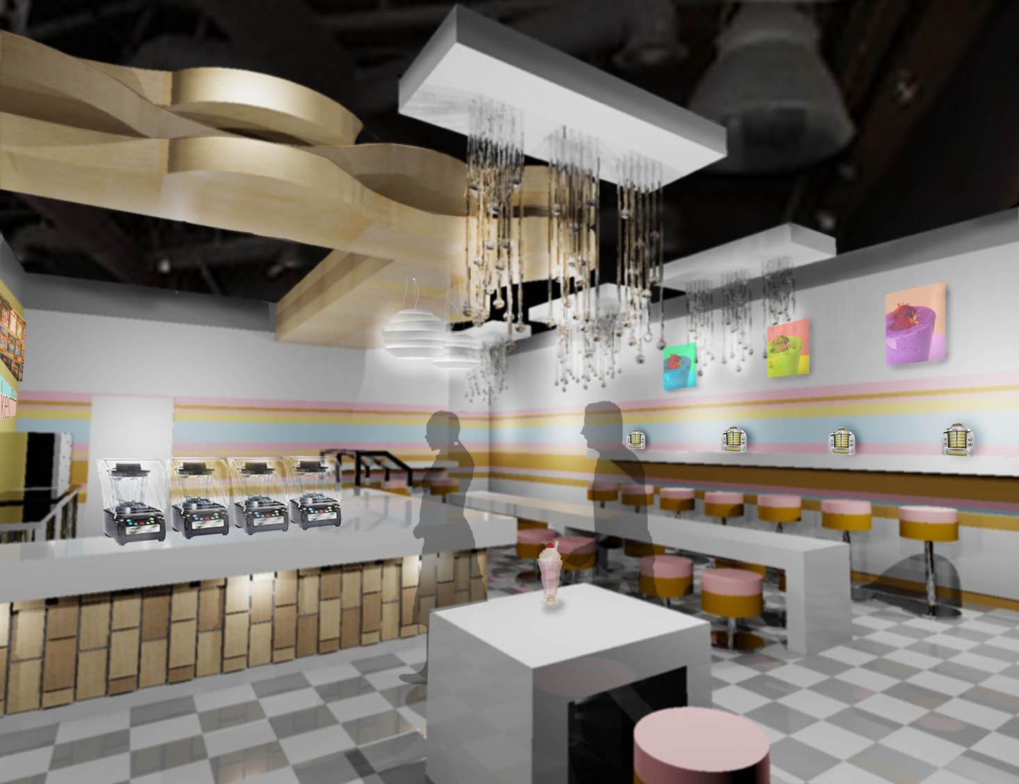 shakes for life:  restaurant